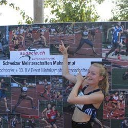 Starker Auftritt von Céline bei den Schweizermeisterschaften im 7 Kampf