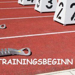 Trainingszeiten Hallensaison 2016-2017
